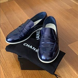 Chanel Loafers with Dustbag and Box